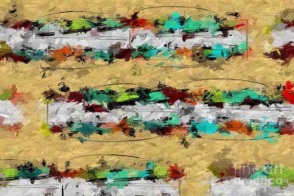 Digital Art - Overcast Opus 3 by Lon Chaffin