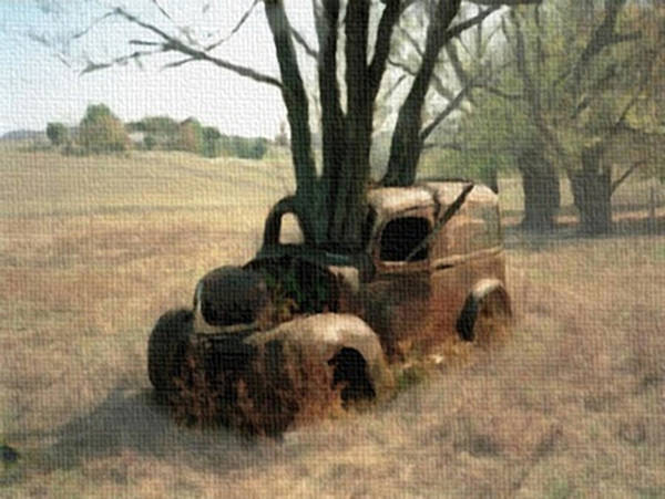 Painting - Overgrown  by Dennis Buckman