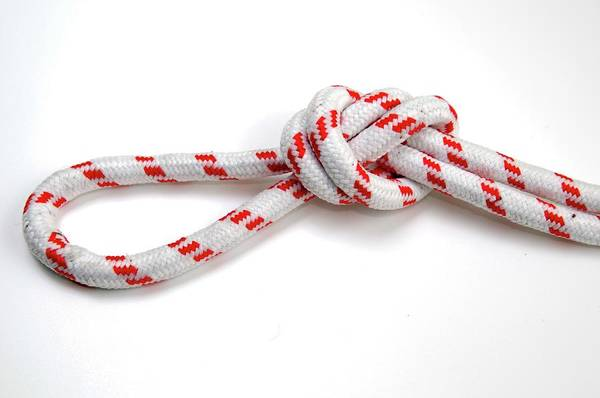 Knot Photograph - Overhead Loop Knot by Photostock-israel/science Photo Library