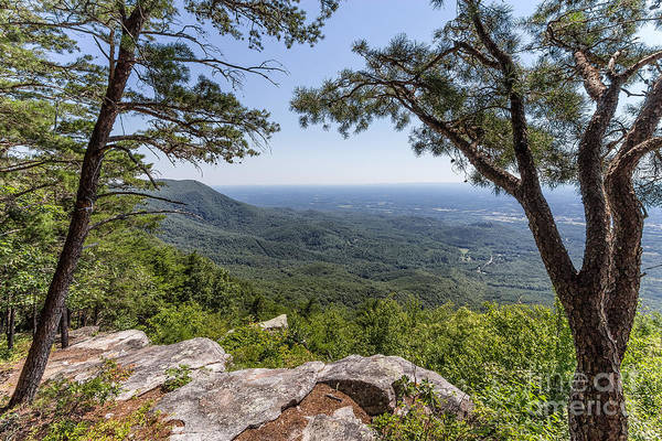 Photograph - Overlook At Fort Mountain by Bernd Laeschke