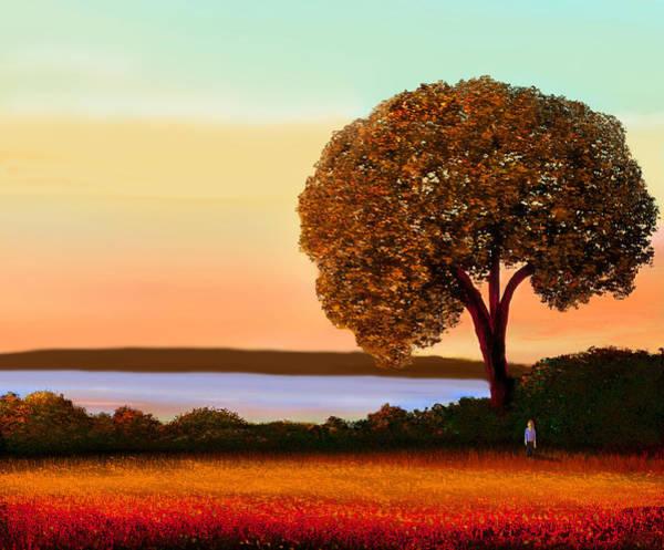 Orange County Digital Art - Overlook by John Townes