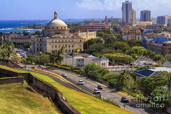 Photograph - Overlooking Old San Juan by Mary Lou Chmura
