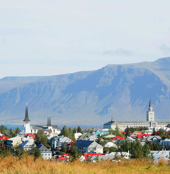 Reykjavik Photograph - Overview Of City by Grant Faint