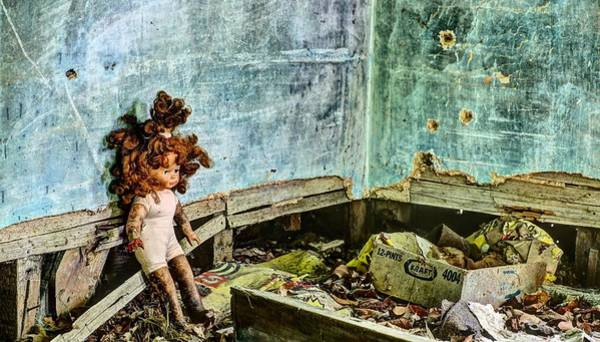 Doll House Photograph - Overwhelmed  by JC Findley