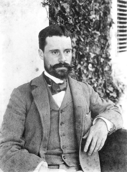 Photograph - Owen Wister (1860-1938) by Granger
