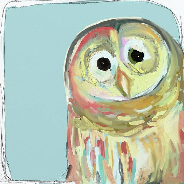 Brush Stroke Wall Art - Photograph - Owl #5 by Cathy Walters