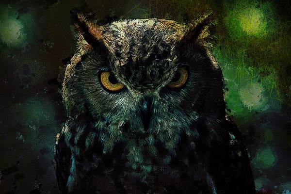Owlish Tendencies Art Print