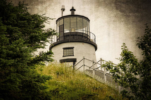 Photograph - Owls Head Lighthouse by Joan Carroll