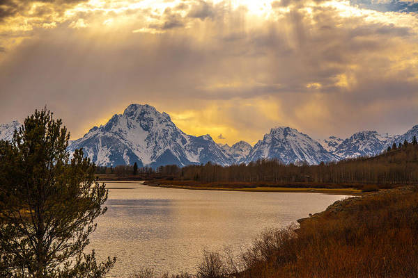 Photograph - Oxbow Bend by Kevin  Dietrich