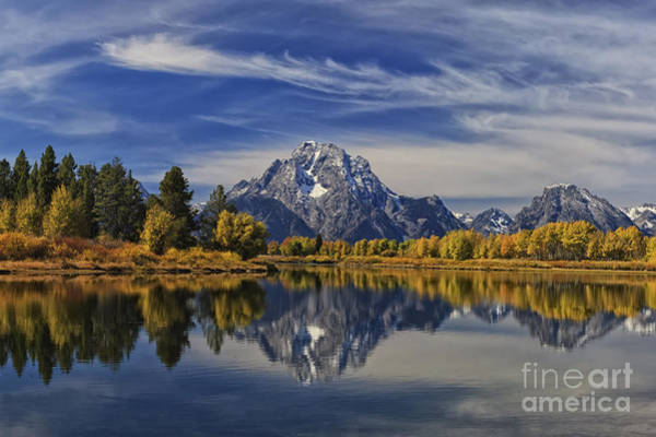 Oxbow Park Photograph - Oxbow Reflections by Mark Kiver