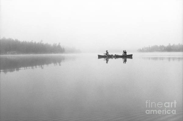 Bwcaw Photograph - Oyster Lake In The Fog by Mark Avery