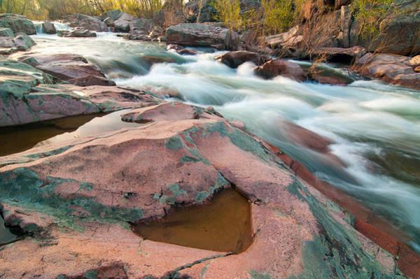 Photograph - Ozark Stream by Steve Stuller