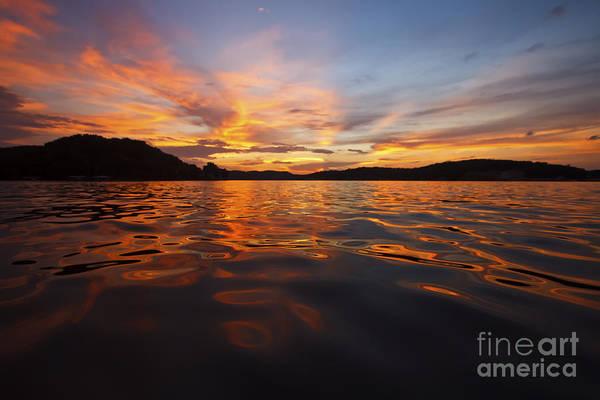 Missouri Photograph - Ozark Sunset by Dennis Hedberg
