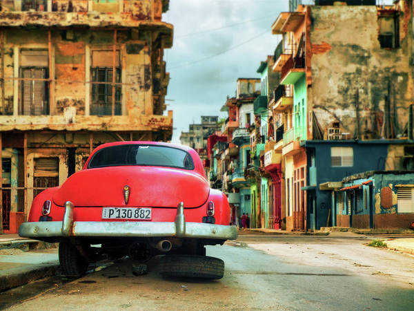 Old Car Wall Art - Photograph - P 130882 by Svetlin Yosifov