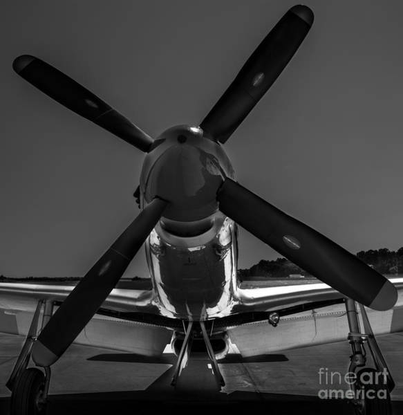 Photograph - P-51 Mustang by Dale Powell