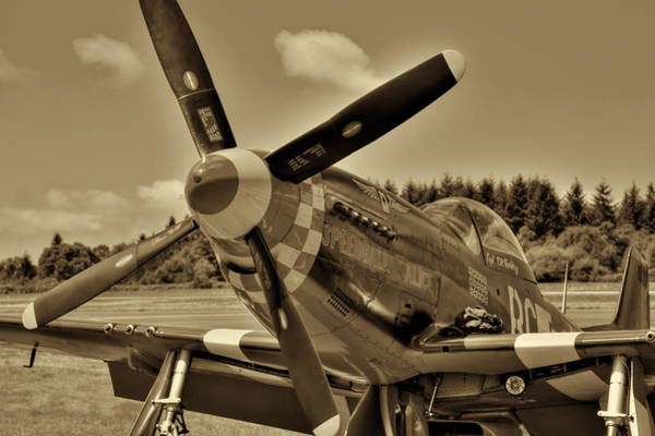 Photograph - P-51 Mustang II by David Patterson