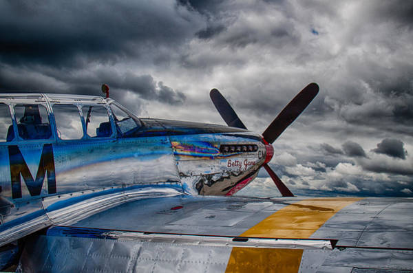 B24 Photograph - P-51 Mustang by Mike Burgquist