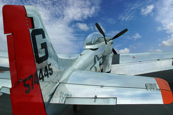 Photograph - P-51 Mustang Pecos Bill by Rod Seel