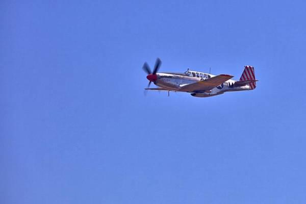 Photograph - P-51 Overhead by Gordon Elwell