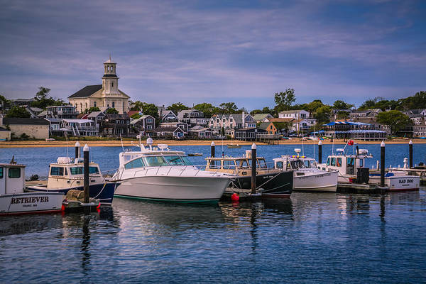 Provincetown Harbor Photograph - P-town Harbor by Susan Candelario