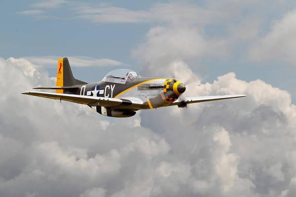 World War 2 Digital Art - P51 Mustang - Miss Velma by Pat Speirs