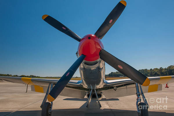 Photograph - P51 Mustang Prop by Dale Powell