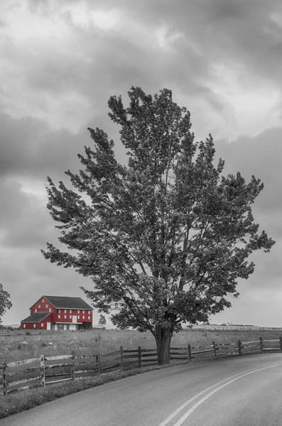 Photograph - Pa Farm  7d02900 by Guy Whiteley