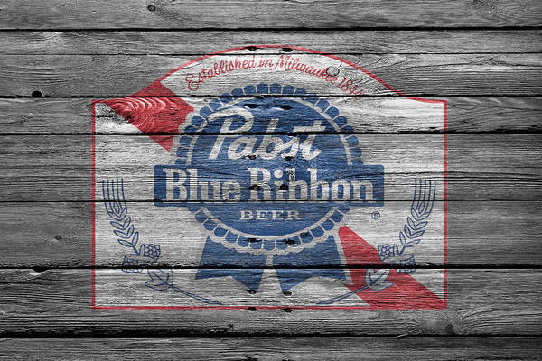 Wall Art - Photograph - Pabst Blue Ribbon Beer by Joe Hamilton