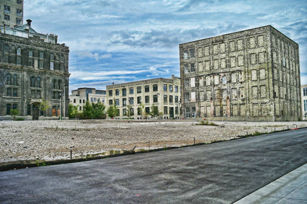 Photograph - Pabst Brewery Abandonded Seen Better Days Pabst In Milwaukee Blue Ribbon Beer by Lawrence Christopher