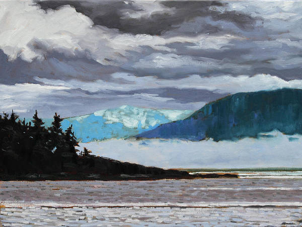 Painting - Pacific 6  by Rob Owen