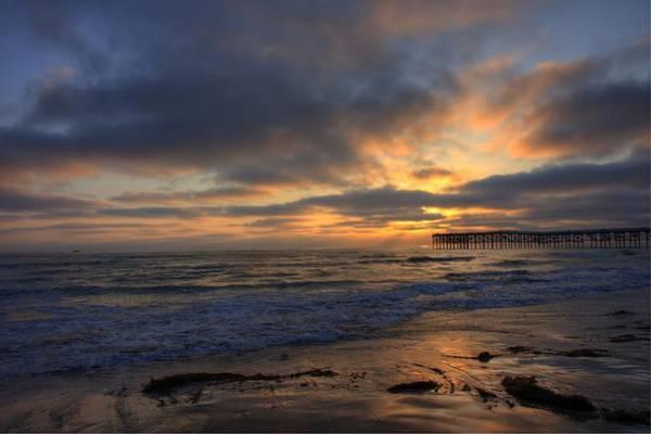 Photograph - Pacific Beach Sunset by Nathan Rupert