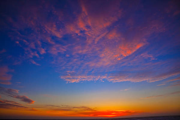 Sun Set Photograph - Pacific Coast Sunset by Garry Gay