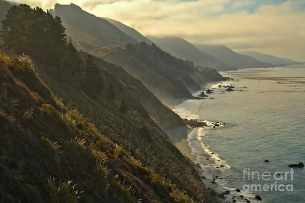 Photograph - Pacific Coastal Cliffs by Adam Jewell