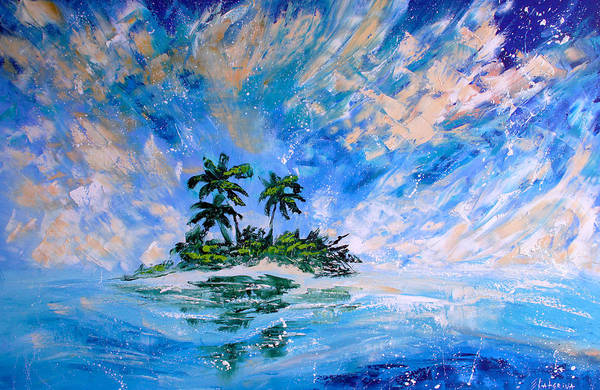 Painting - Pacific Island by Ekaterina Chernova