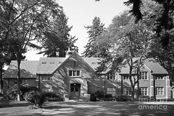 Photograph - Pacific Lutheran University Xavier Hall by University Icons