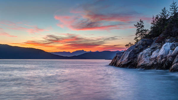 Photograph - Pacific Northwest Coastline Sunset by Pierre Leclerc Photography