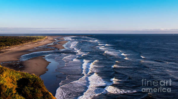 Sensational Photograph - Pacific Ocean And The Columbia River by Robert Bales