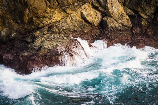 Photograph - Pacific Ocean Splash by Priya Ghose