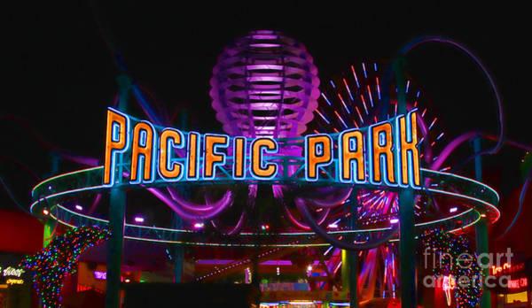 Photograph - Pacific Park - Santa Monica By Diana Sainz by Diana Raquel Sainz