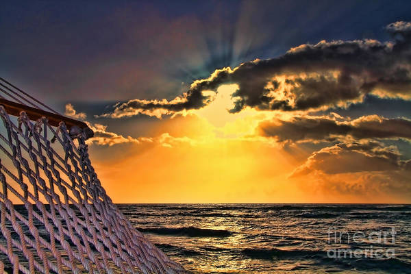 Photograph - Pacific Sunset By Diana Sainz by Diana Raquel Sainz