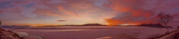 Photograph - Pack River Delta Sunset  -  150125a-336 by Albert Seger