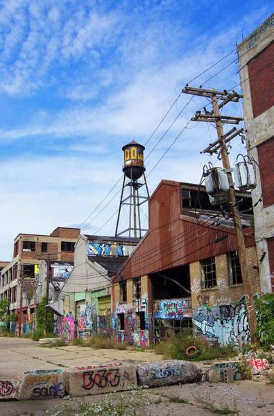 Wall Art - Photograph - Packard Automotive Plant by Mark Williamson/science Photo Library