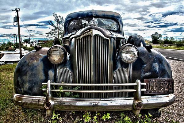 Photograph - Packard by Carol Erikson