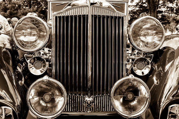 Wall Art - Photograph - Packard Front And Centered by W Chris Fooshee