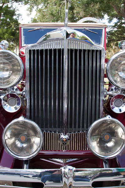 Wall Art - Photograph - Packard Grille by W Chris Fooshee