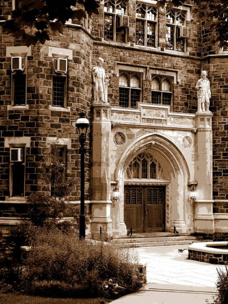 Lehigh University Wall Art - Photograph - Packard Laboratory Sepia by Jacqueline M Lewis