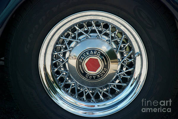 Photograph - Packard by Mark Dodd