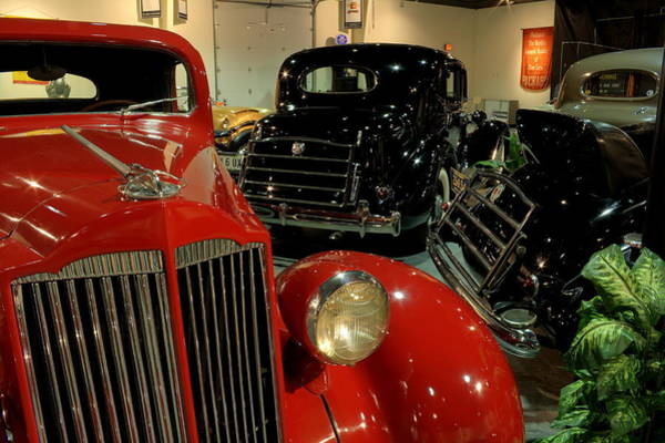 Photograph - Packards by David Dufresne
