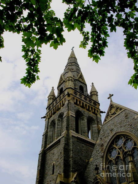 Lehigh University Wall Art - Photograph - Packer Memorial Church - Lehigh University by Jacqueline M Lewis