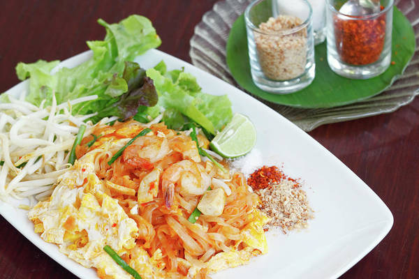 Seafood Photograph - Pad Thai by Tommyix